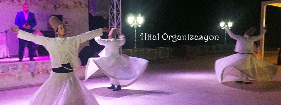 islami düğünlerde semazen ekibi gösterisi