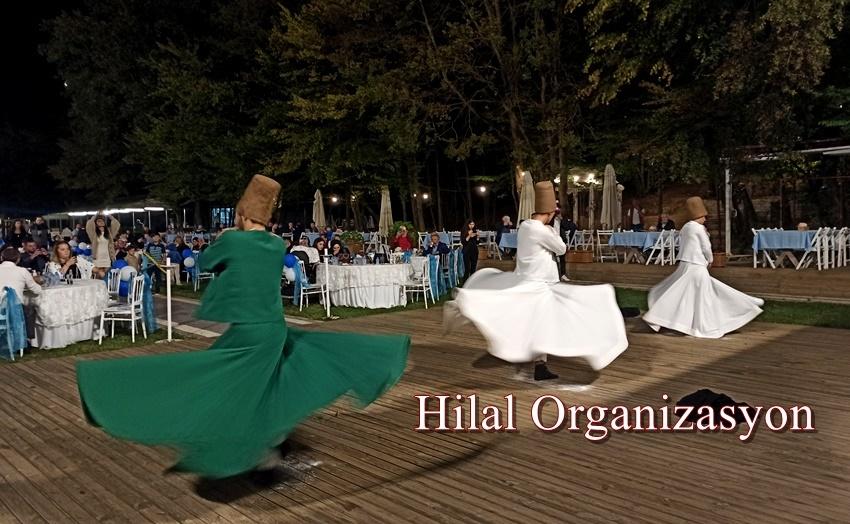 Zonguldak Semazen gösterisi