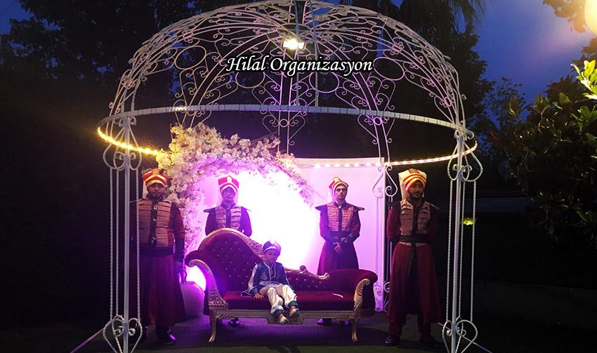 istanbul sünnet düğünü taht yeniçeri