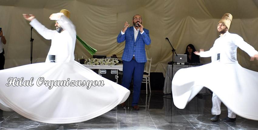 semazenler dini düğün organizasyonu